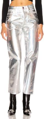 Acne Studios Bla Konst 1997 Skinny in White & Holographic | FWRD