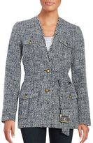 MICHAEL Michael Kors Tweed Trench Coat