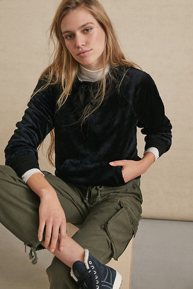 Sunday In Brooklyn Mairead Mock Neck Pullover By in Black Size XS