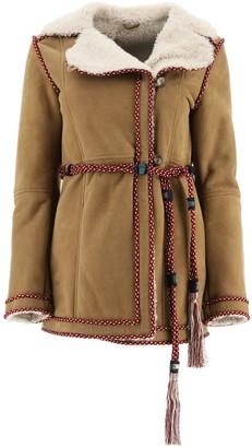 Etro Tassel Detailed Tie-Waist Jacket