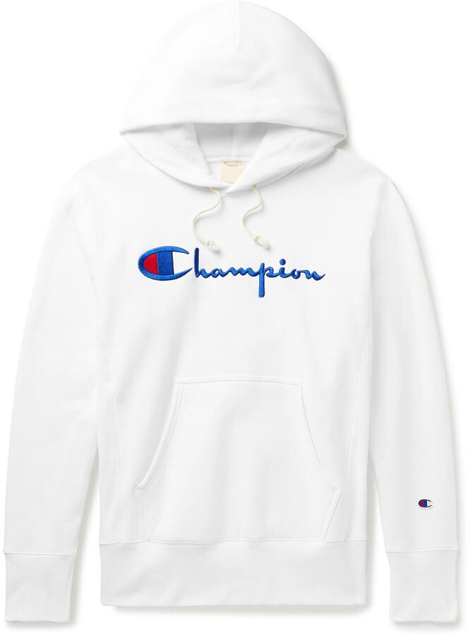 CHAMPION Sweat Capuche Sweat-shirt homme imitation Daim Polaire Pull Original Authentique Kango