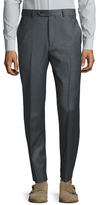 Brooks Brothers Wool Sharkskin Flat Front Trousers