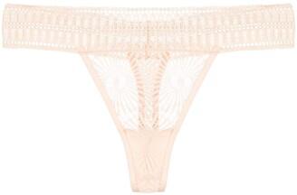 Kiki de Montparnasse Sundial lace thong