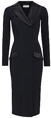 Chiara Boni Women's Ayasha Lurex Stripe Blazer Dress