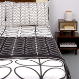 Orla Kiely Linear Stem Duvet Cover - Graphite - King - 225x220cm