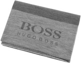 BOSS GREEN Knitted Scarf Grey