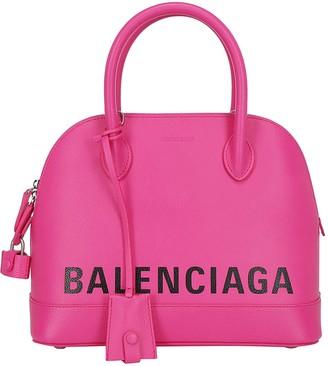 Balenciaga Ville Small Top Handle Bag