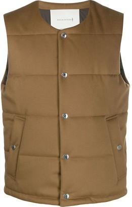 MACKINTOSH Gills Storm System wool vest