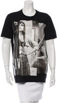 Givenchy Textured Graphic T-Shirt