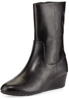 Cole Haan Tali GRAND O/S Short Leather Boot, Black