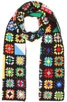 J.W.Anderson Crochet wool-blend scarf