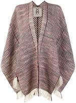 Figue 'Ruana' poncho shawl - women - Wool - One Size