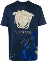 Versace logo print T-shirt