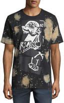PRPS Bleached Cut & Paste Logo T-Shirt