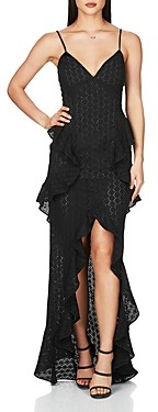Nookie Darling Ruffled Broderie Anglaise Gown
