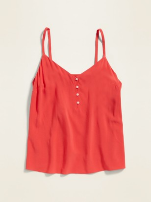 Old Navy V-Neck Button-Front Cami for Women