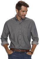 Croft & Barrow Men's Classic-Fit Woven Button-Down Shirt