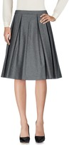 Twin-Set Knee length skirts