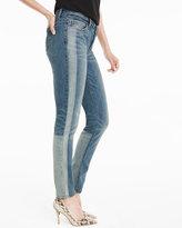 White House Black Market Tuxedo Stripe Skimmer Jeans