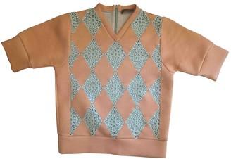 Louis Vuitton \N Orange Lace Top for Women