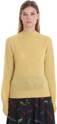 Marc Jacobs Cardigan In Yellow Wool