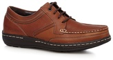 Hush Puppies Brown 'vines Victory' Apron Shoes