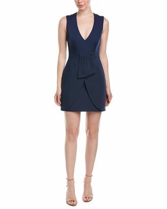 BCBGMAXAZRIA Azria Women's Clare Sleeveless Wrap Drape-Skirt Dress