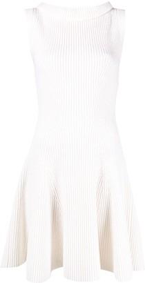Alexander McQueen Knitted Skater Dress