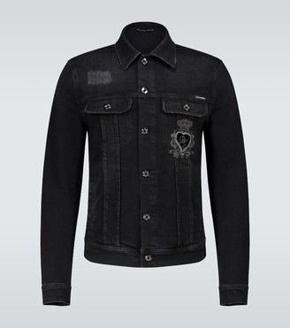 Dolce & Gabbana Denim jacket with logo