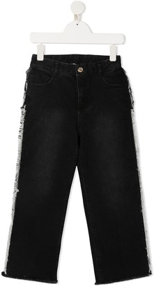 Twin-Set Frayed Sides Jeans