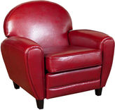 Asstd National Brand Marcel Bonded Leather Club Chair