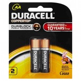 Duracell Coppertop AA 2 pack
