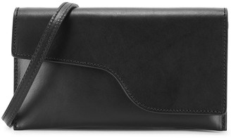 ATP ATELIER Ulignano black leather cross-body bag