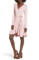 Soprano Women's Ruffle Wrap Dress