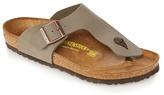 Birkenstock Taupe 'ramses' Sandals