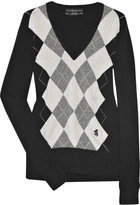1815 Argyle merino wool sweater