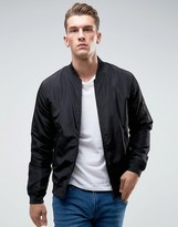 ONLY & SONS Paded Bomber Jacket With MA-1 Pocket