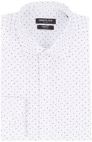 Kenneth Cole New York Non-Iron Slim-Fit Spread Collar Printed Dress Shirt