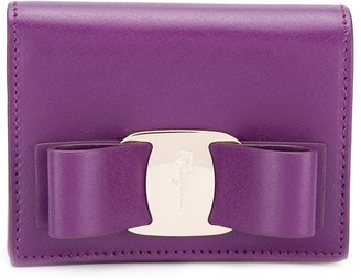 Salvatore Ferragamo bow detail wallet