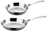 "Berghoff Copper Clad 10 & 12"" Frying Pan Set (2 PC)"