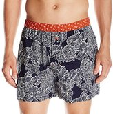 Tommy Bahama Men's Royal Palm Cotton Woven Boxer