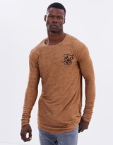 SikSilk Inject Waffle Long Sleeves Tee