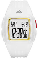 adidas Duramo White and Gold Small Polyurethane Watch