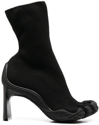 Balenciaga Split-Toe Pull-On Booties