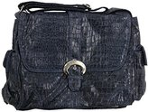 Kalencom Diaper Bag, Crocodile Navy by