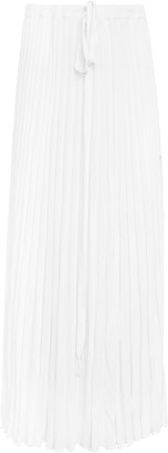 CHRISTOPHER ESBER Pleated Knit Tie Skirt