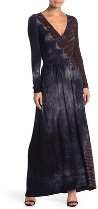 Go Couture Long Sleeve Maxi Dress