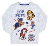 Character Nickelodeon Paw Patrol Badge Long Sleeve T-Shirt, Kids Unisex