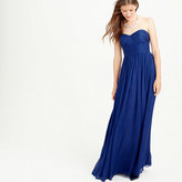 J.Crew Marbella long dress in silk chiffon