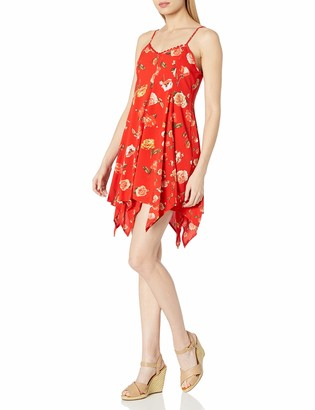 Taylor & Sage Women's Floral Print Slip Dress